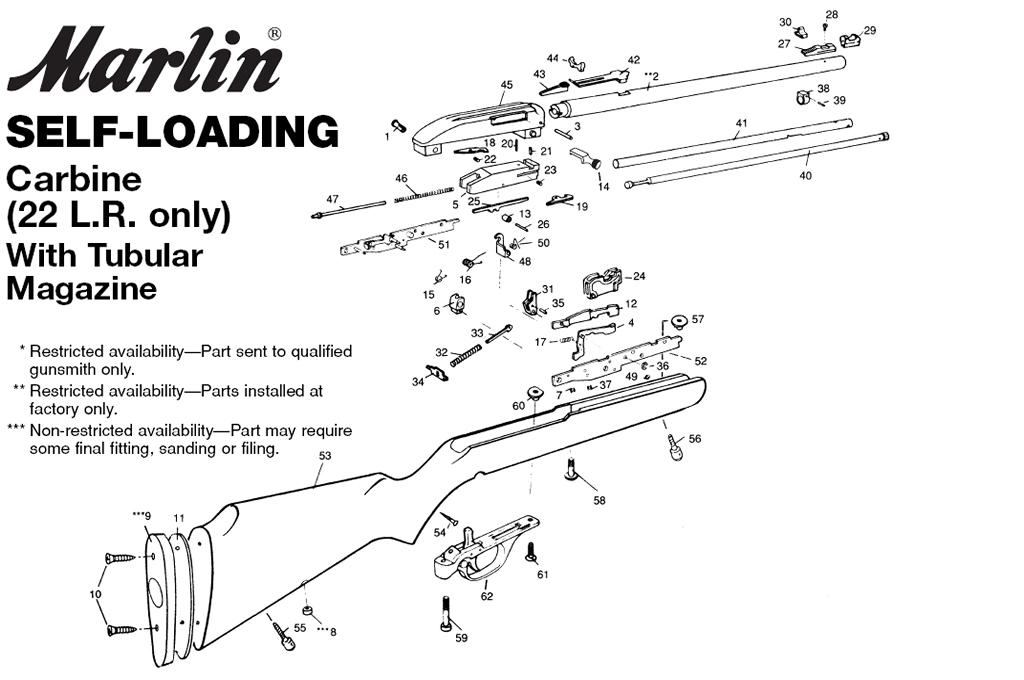 marlin 444 parts diagram